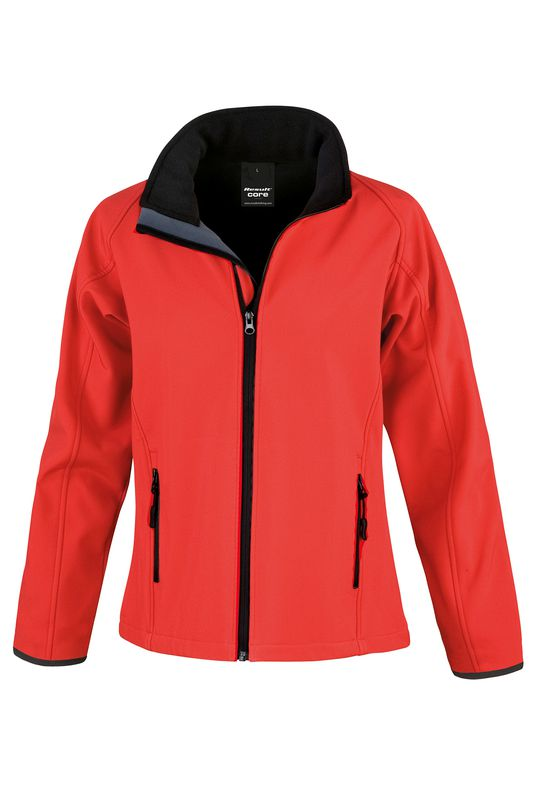 LADIES PRINTABLE CORE SOFTSHELL JACKET  363df39a99
