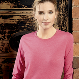 J167F - LADIES LONG SLEEVE HD T