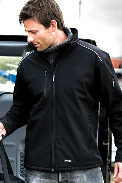 RIPSTOP WORKWEAR SOFTSHELL JACKET