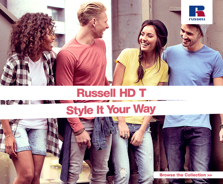 Russell HD-T. Style it your way!